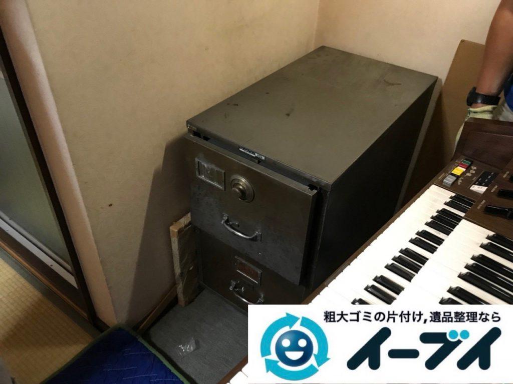 2019年1月2日大阪府大阪市東住吉区で古い大型のエレクトーンの回収をしました。写真4
