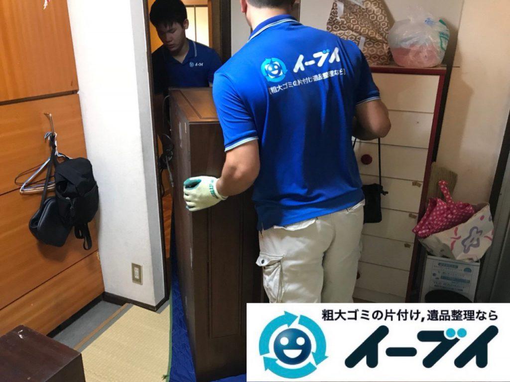 2019年1月2日大阪府大阪市東住吉区で古い大型のエレクトーンの回収をしました。写真2