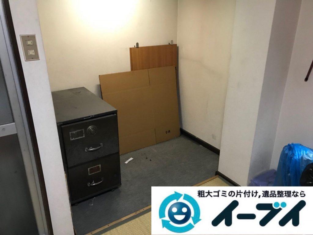 2019年1月2日大阪府大阪市東住吉区で古い大型のエレクトーンの回収をしました。写真1