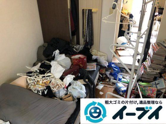 2019年1月1日大阪府大阪市大正区で管理会社様からゴミ屋敷片付けの依頼。写真3