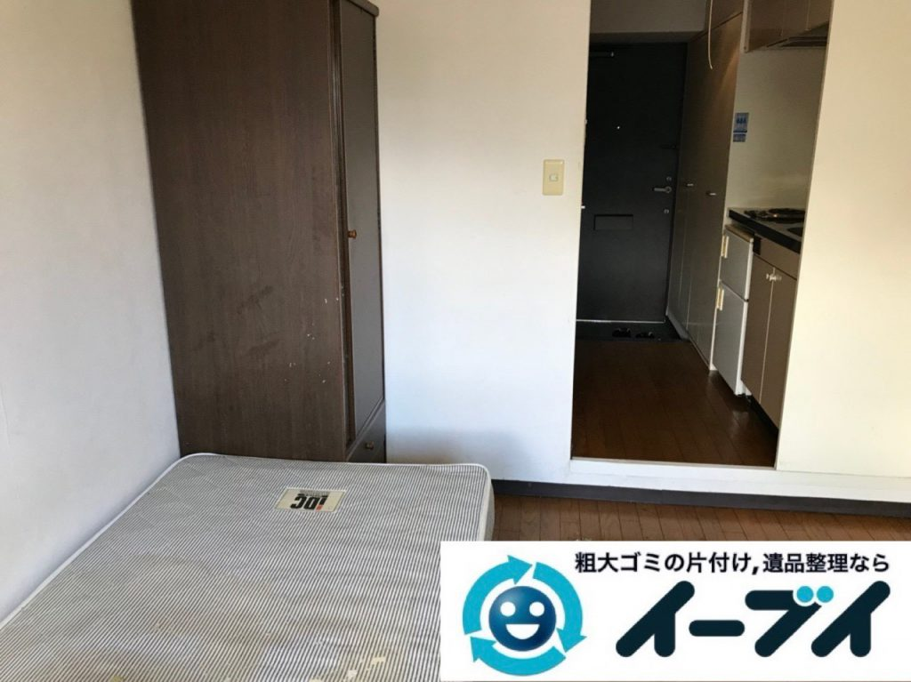 2018年1月1日大阪府大阪市大正区で管理会社様からゴミ屋敷片付けの依頼。写真2