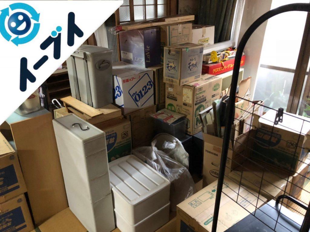 2018年12月27日大阪府堺市堺区で引っ越しに伴い整理された不用品の回収をしました。写真2