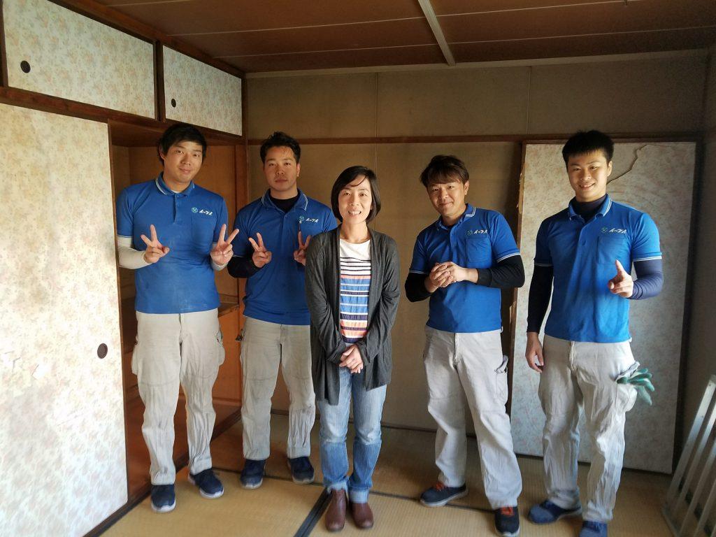 2019年1月9日大阪府寝屋川市のお客様よりお部屋の退去に伴った冷蔵庫やテレビ等の不用品の処分で弊社をご利用頂きました。写真1