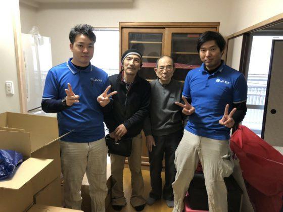 2019年1月4日大阪市淀川区のお客様より、お引越とそれに伴った処分を合わせてしたいとの事で弊社にご依頼頂きました。