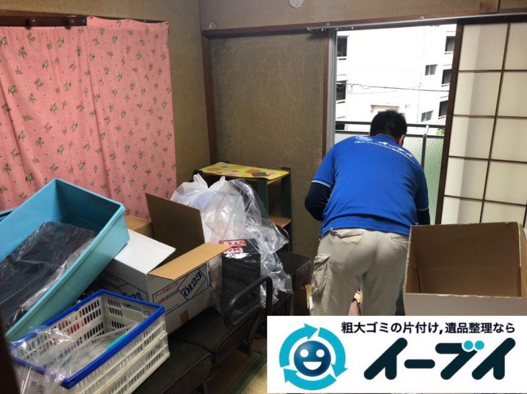 2019年2月13日大阪府摂津市でベッドの大型家具などの不用品回収。写真3