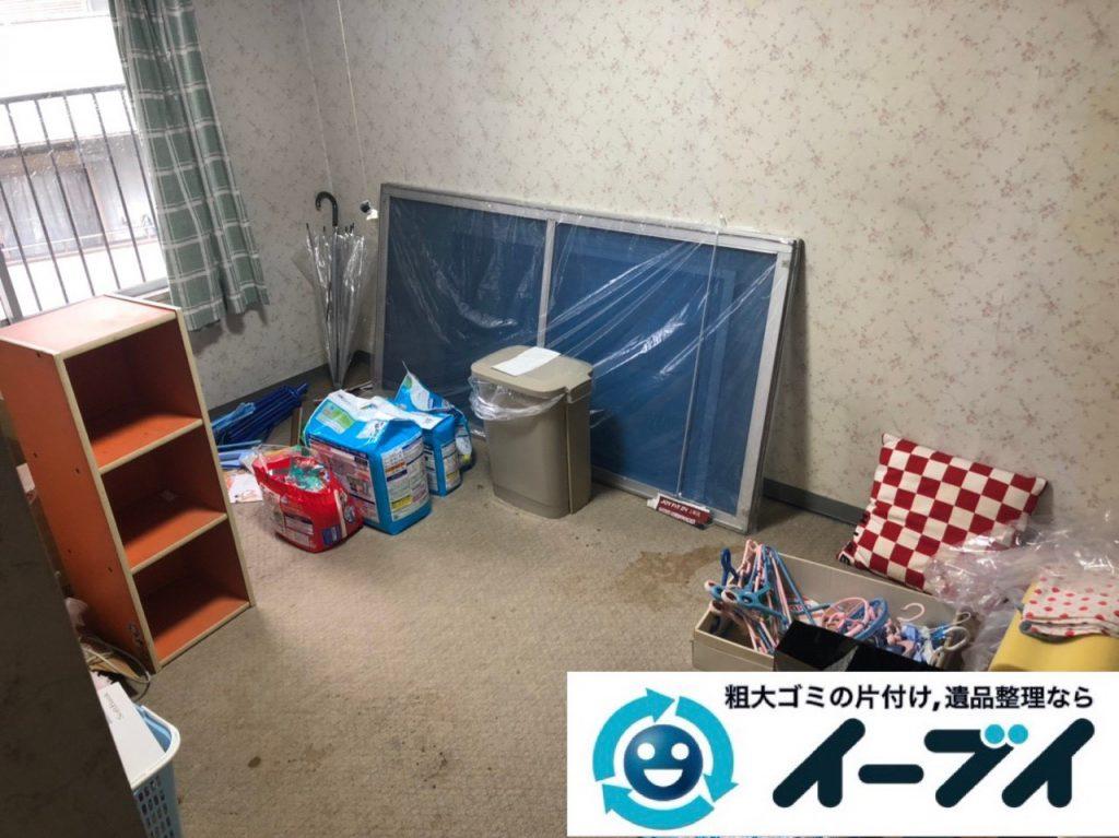2019年2月10日大阪府岸和田市でカラーボックスなどお部屋の不用品回収。写真2