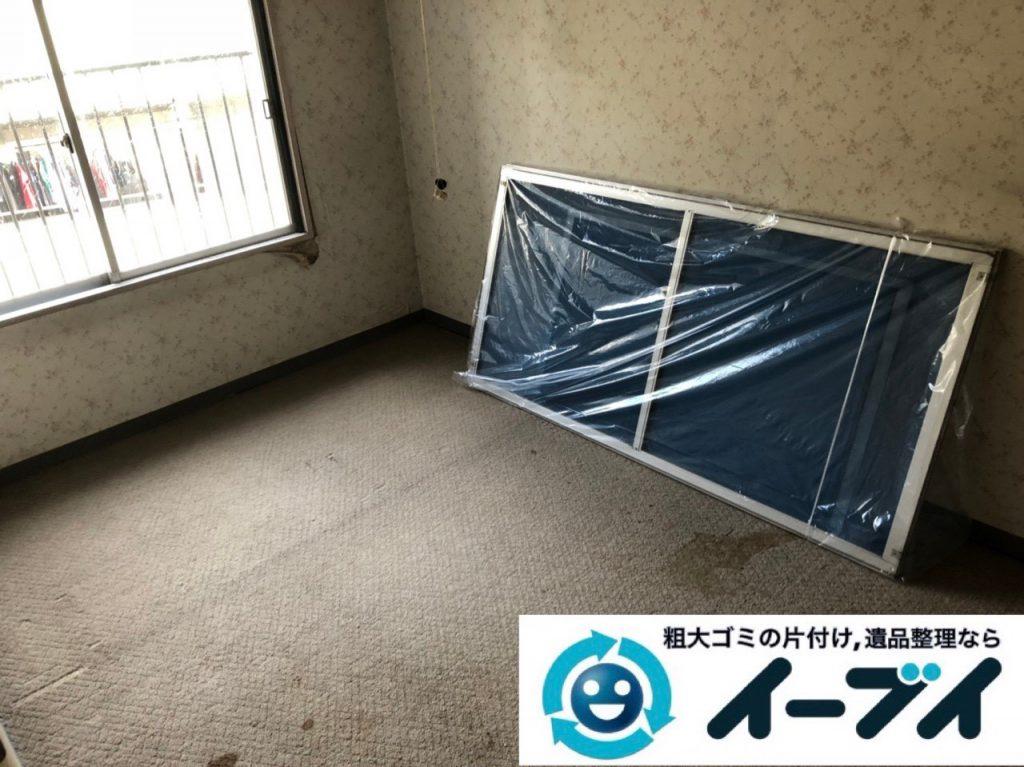 2019年2月10日大阪府岸和田市でカラーボックスなどお部屋の不用品回収。写真1