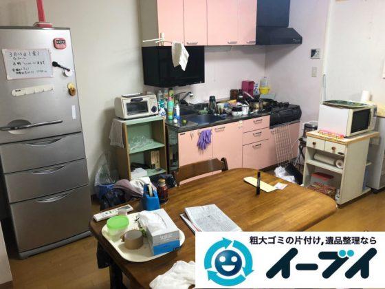2019年2月9日大阪府寝屋川市で台所やお部屋の不用品回収。写真4
