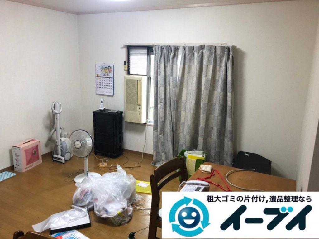 2019年2月9日大阪府寝屋川市で台所やお部屋の不用品回収。写真2