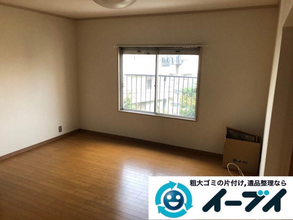 2019年2月9日大阪府寝屋川市で台所やお部屋の不用品回収。写真1