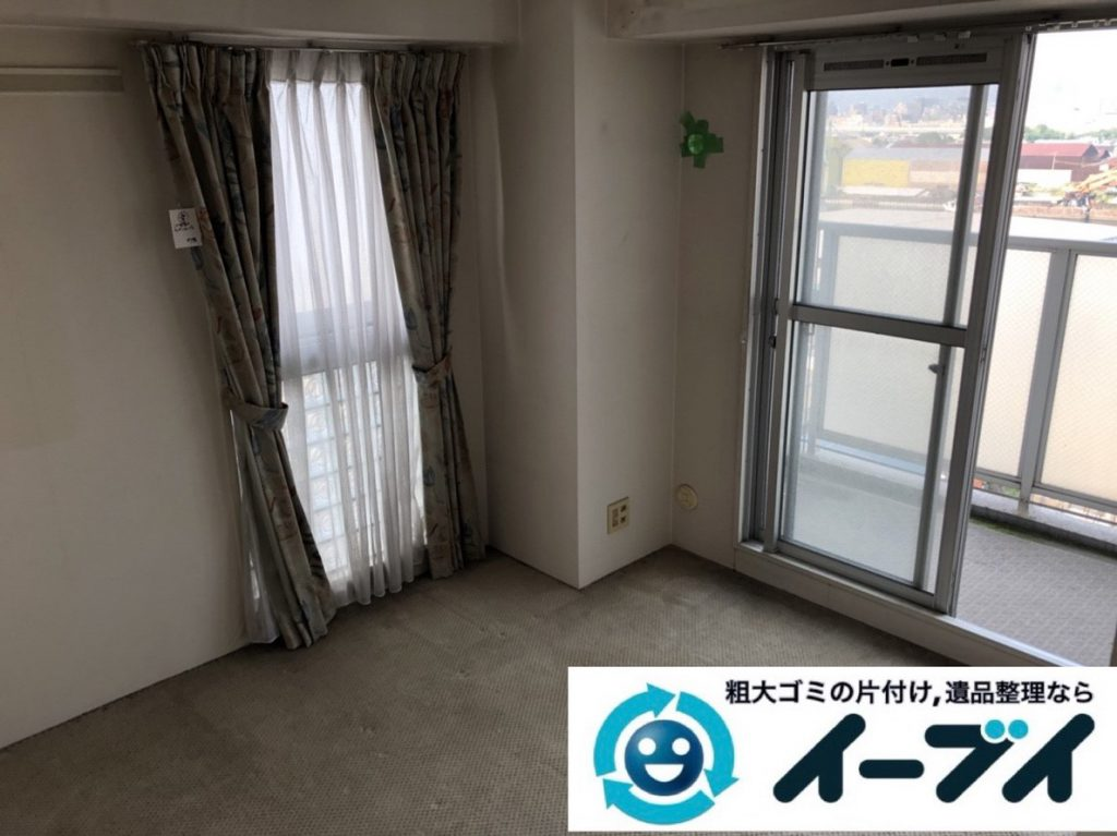 2019年2月5日大阪府大阪狭山市でお部屋の洗濯機や乾燥機の家電処分から細かな生活用品まで、不用品回収させていただきました。写真4