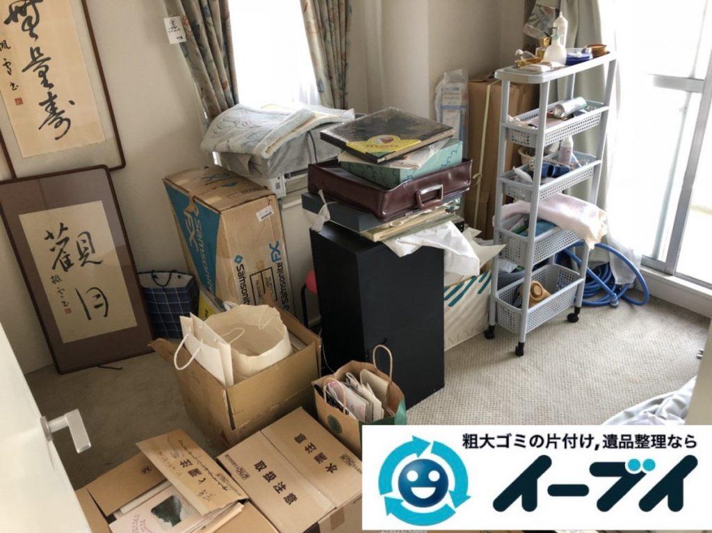 2019年2月5日大阪府大阪狭山市でお部屋の洗濯機や乾燥機の家電処分から細かな生活用品まで、不用品回収させていただきました。写真3