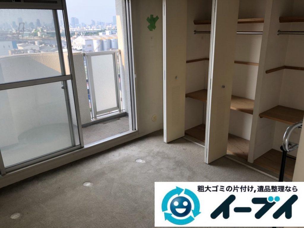 2019年2月15日大阪府松原市でマンションの一室を片付けさせていただきました。写真4