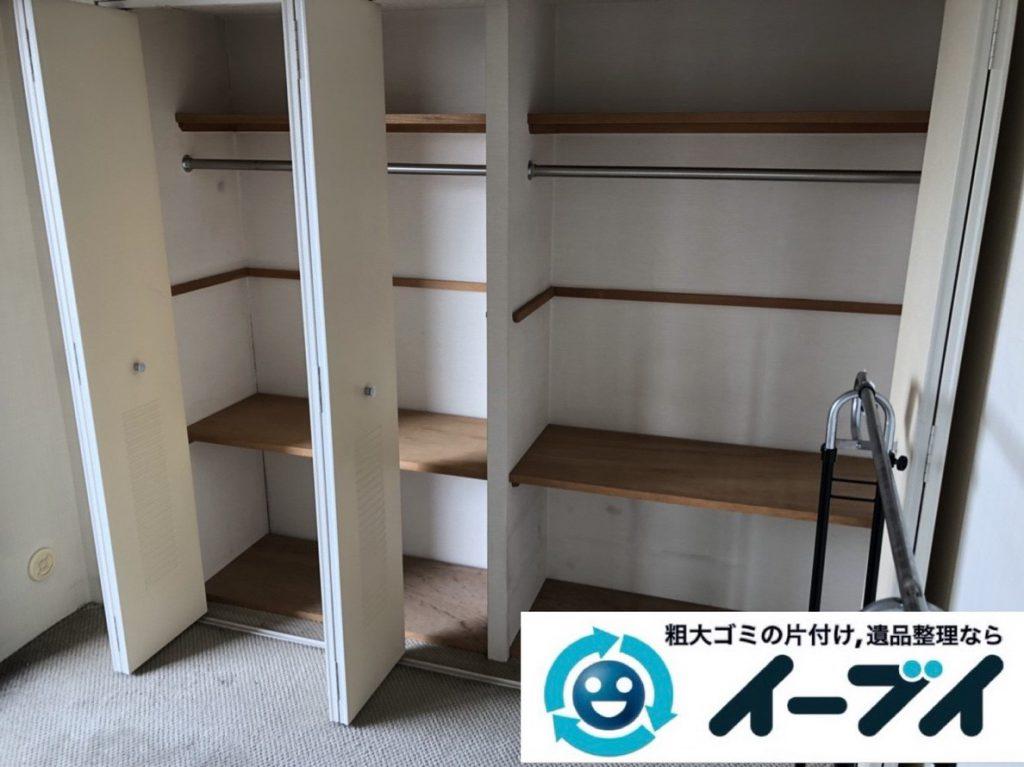 2019年2月15日大阪府松原市でマンションの一室を片付けさせていただきました。写真2