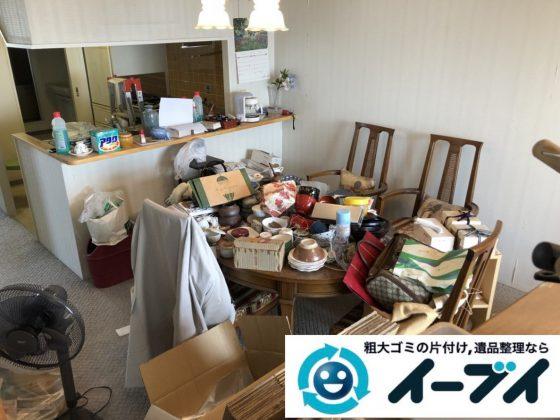 2019年2月4日大阪府太子市で食器棚やエアコンなどの不用品処分をさせていただきました。写真3