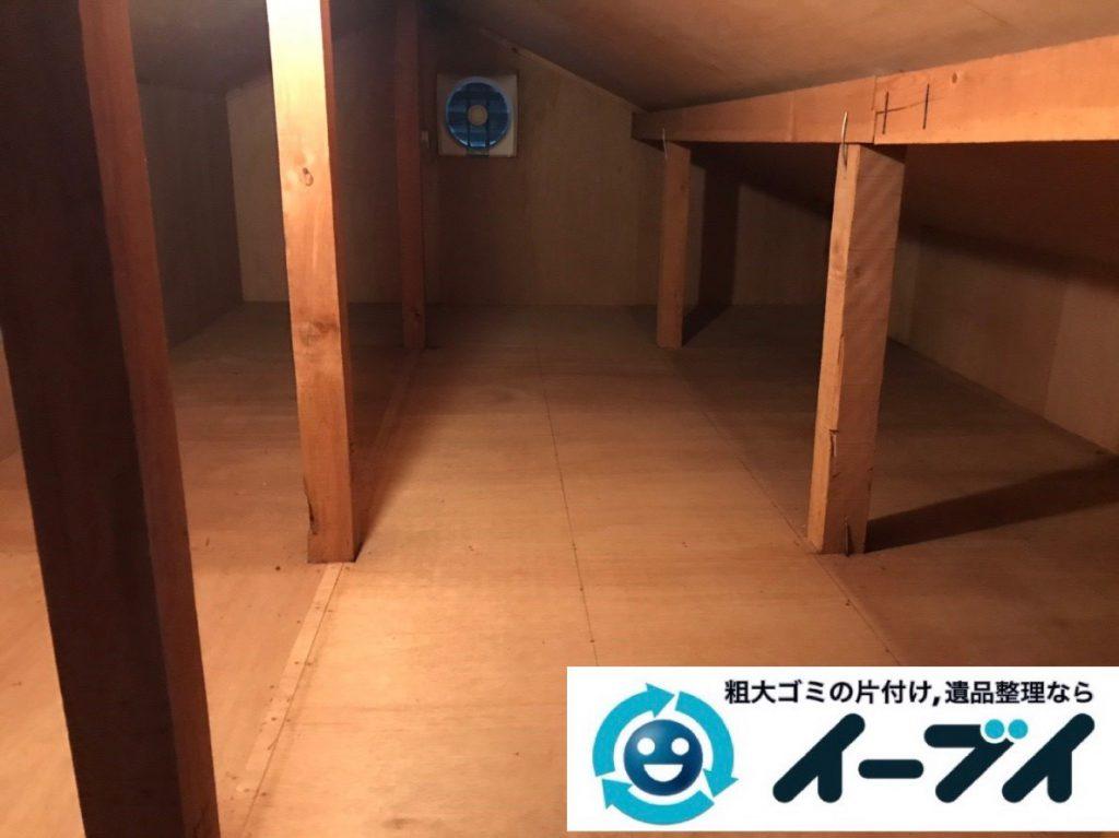 2019年2月8日大阪府富田林市で屋根裏と玄関の不用品回収をさせていただきました。写真4