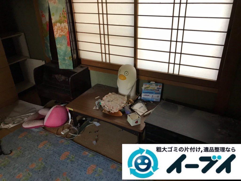 2019年2月1日大阪府大阪市阿倍野区で洋服ダンスや鏡台などの不用品回収。写真3