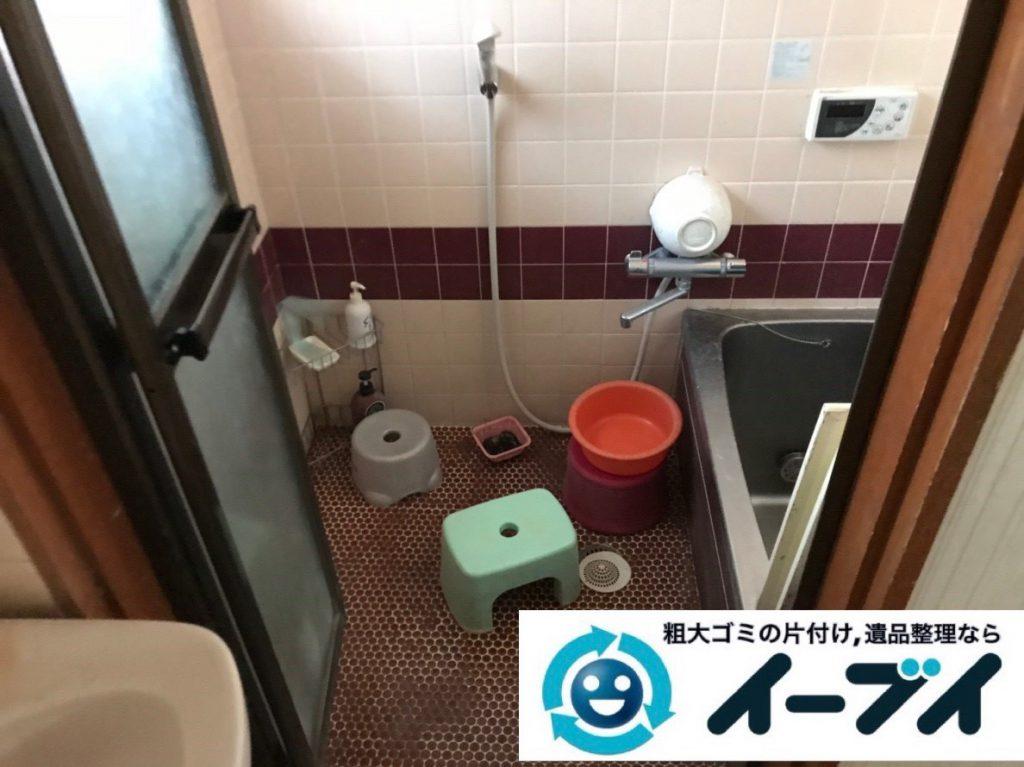 2019年2月7日大阪府柏原市でゴミ屋敷化した台所、浴室などの不用品回収。写真4