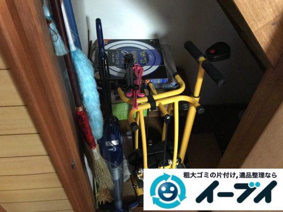 2019年2月18日大阪府池田市でソファや掃除機などの粗大ゴミ処分の不用品回収。写真1