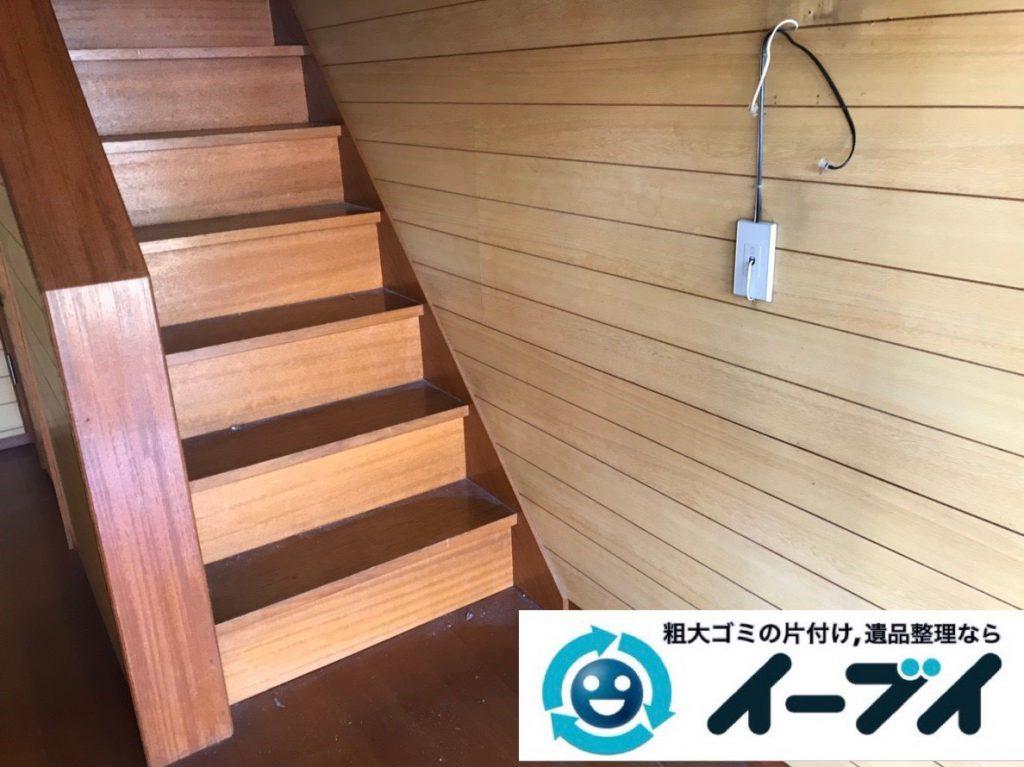2019年2月8日大阪府富田林市で屋根裏と玄関の不用品回収をさせていただきました。写真2