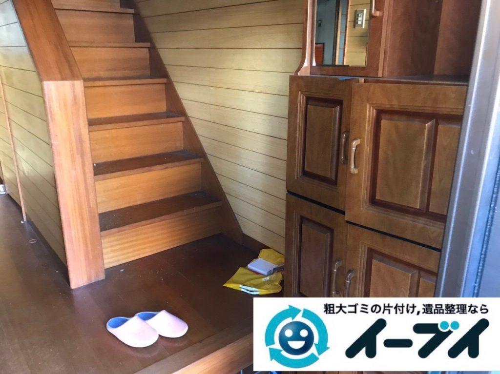 2019年2月8日大阪府富田林市で屋根裏と玄関の不用品回収をさせていただきました。写真1