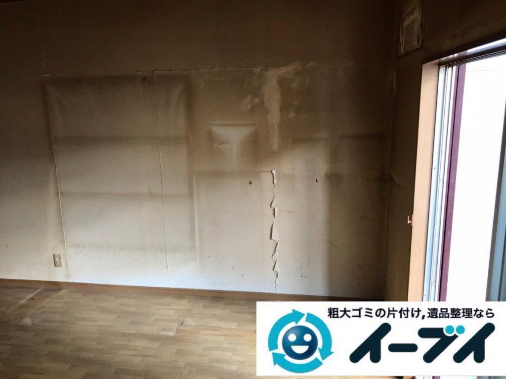 2019年1月29日大阪府大阪市生野区で箪笥やベッドなど大型家具処分の不用品回収。写真4