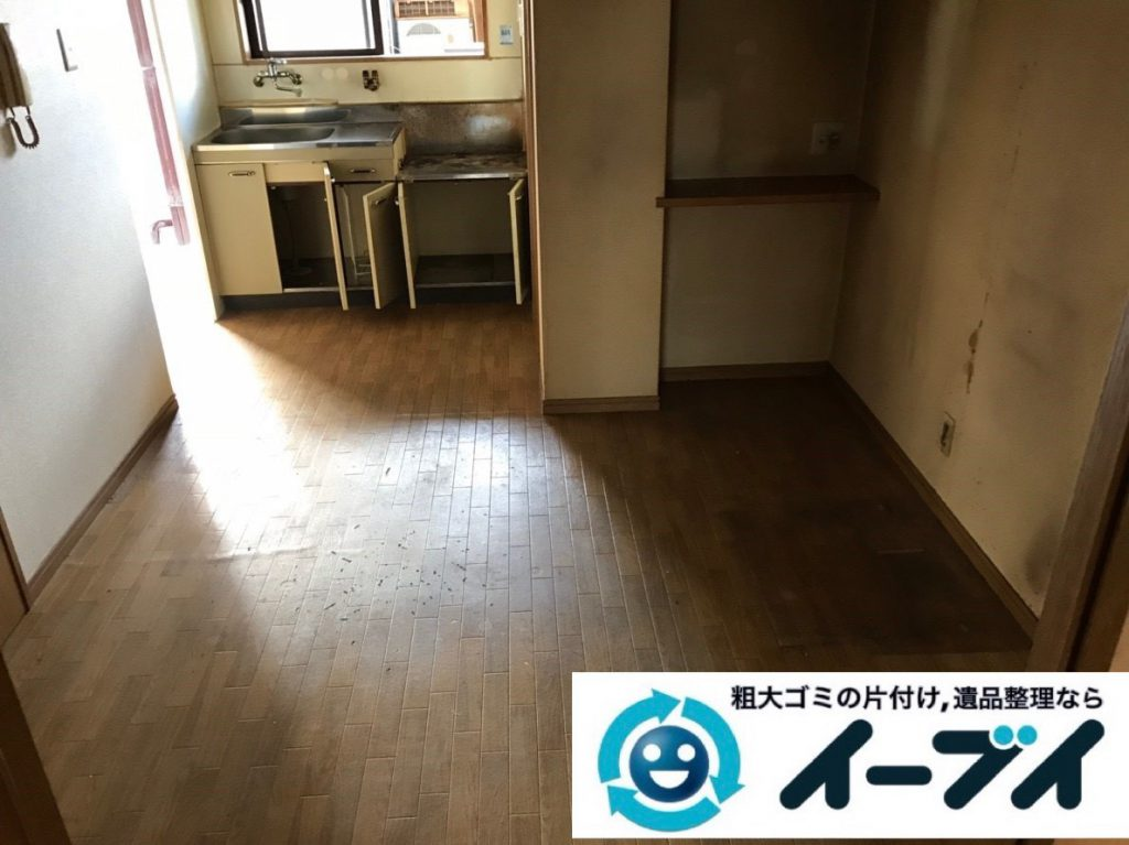 2019年2月3日大阪府大阪市西区で退去に伴いお家の物を全処分させていただきました。写真4