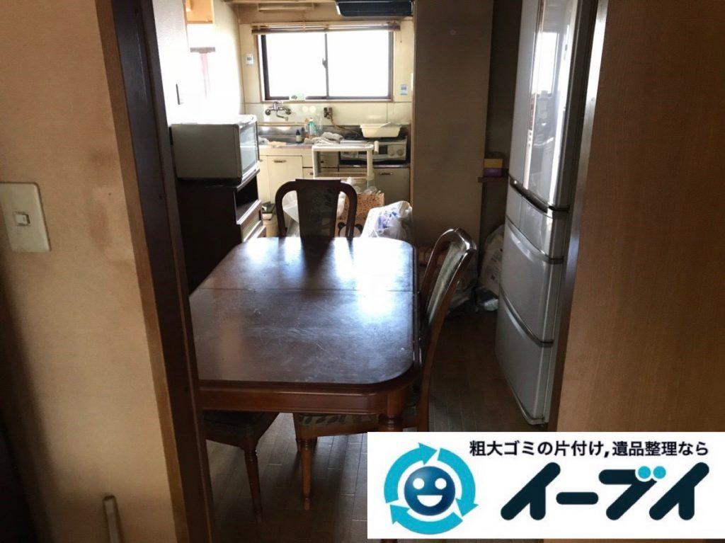 2019年2月3日大阪府大阪市西区で退去に伴いお家の物を全処分させていただきました。写真3