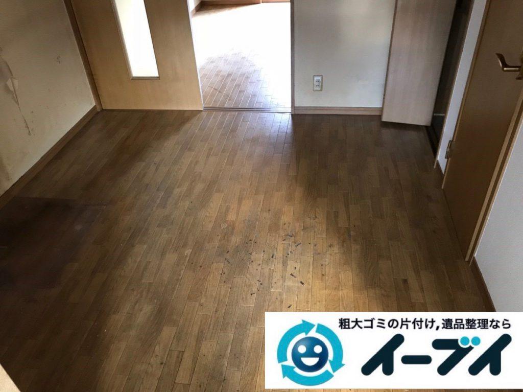 2019年2月3日大阪府大阪市西区で退去に伴いお家の物を全処分させていただきました。写真2