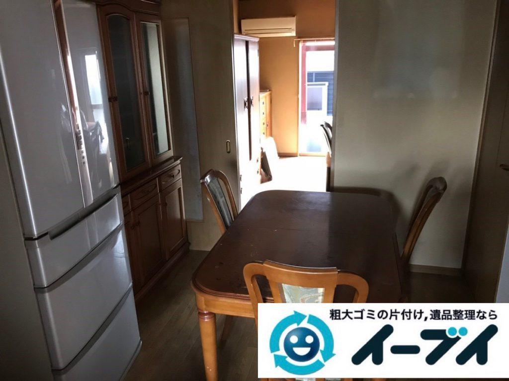 2019年2月3日大阪府大阪市西区で退去に伴いお家の物を全処分させていただきました。写真1