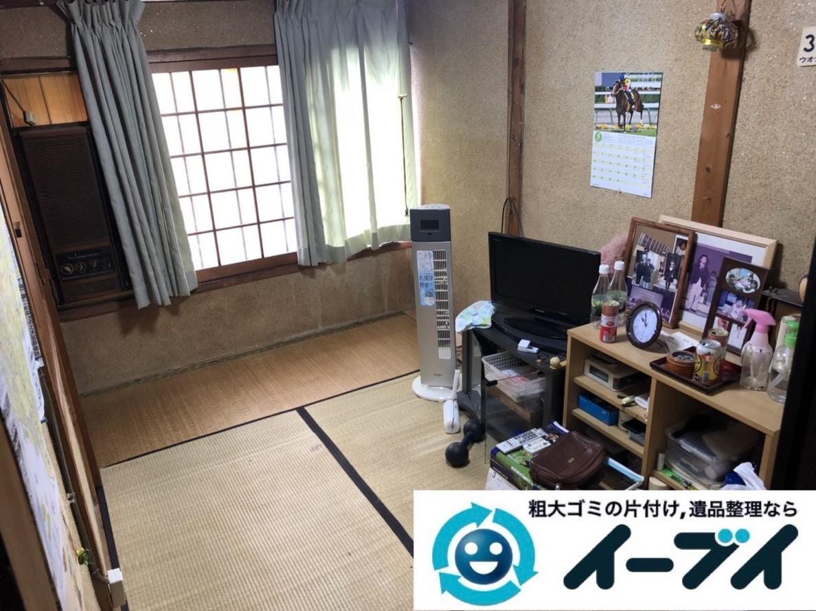 2019年2月7日大阪府守口市でお部屋と押し入れの不用品の片付けをさせていただきました。写真1