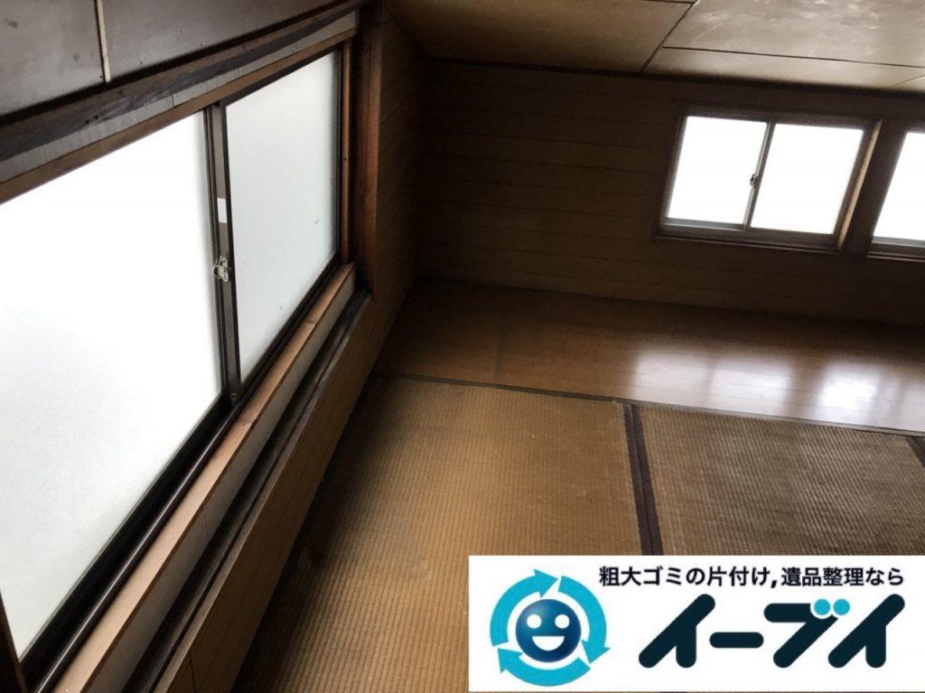 2019年3月3日大阪府熊取市で屋根裏部屋の片付けをさせていただきました。   写真4