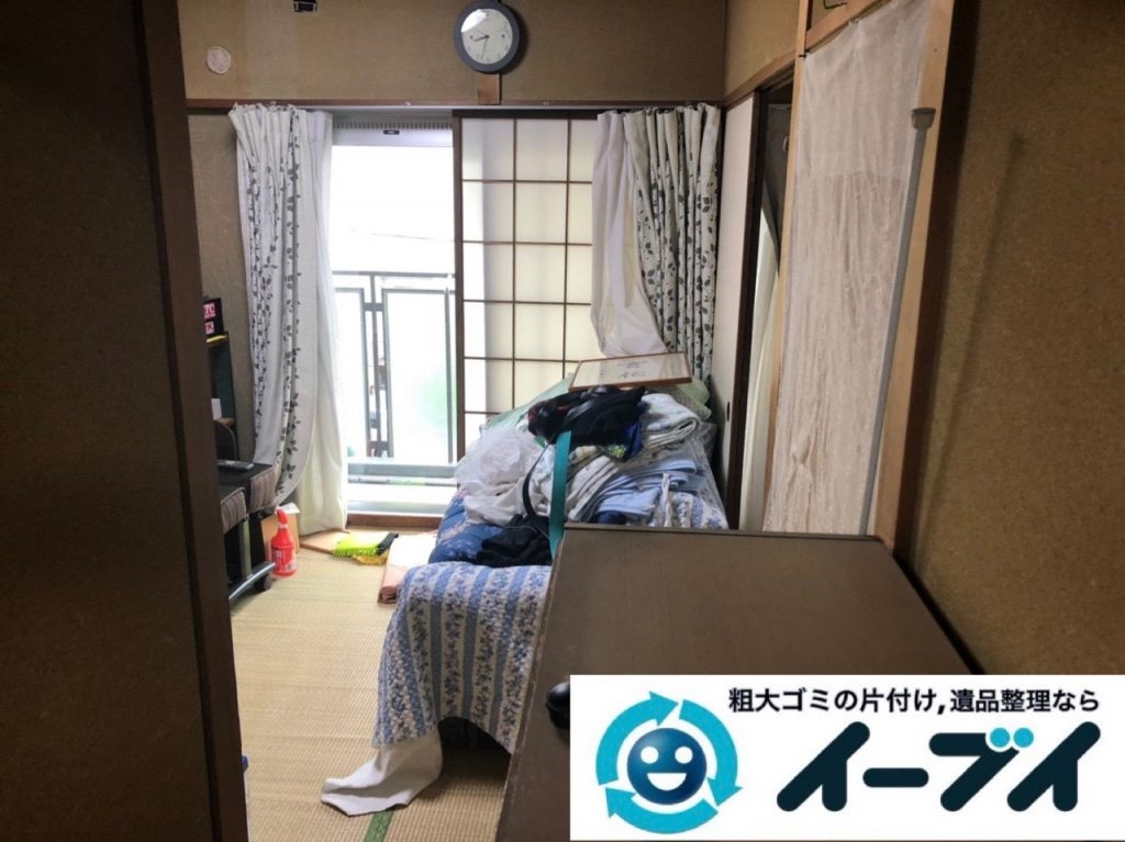 2019年3月2日大阪府吹田市で引越しに伴い家財道具など全ての不用品回収。写真4
