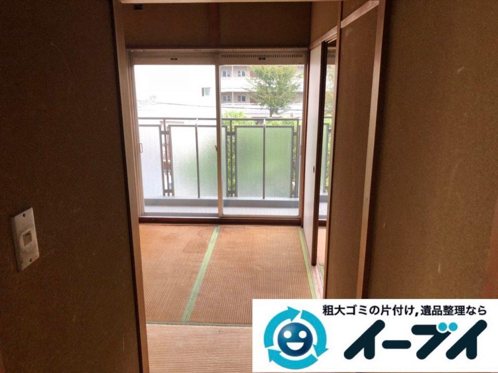 2019年3月2日大阪府吹田市で引越しに伴い家財道具など全ての不用品回収。写真3