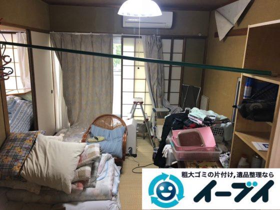 2019年3月2日大阪府吹田市で引越しに伴い家財道具など全ての不用品回収。写真2