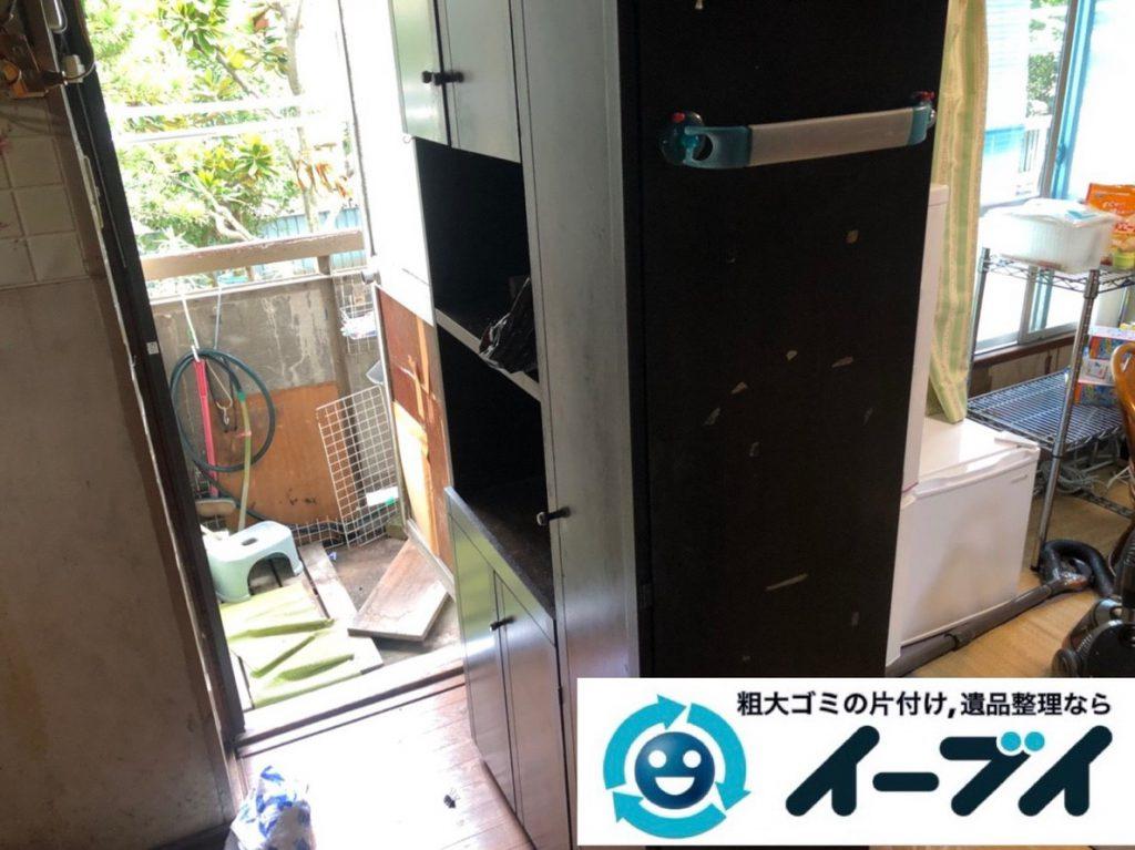 2019年3月5日大阪府吹田市で台所などの不用品回収作業。写真3