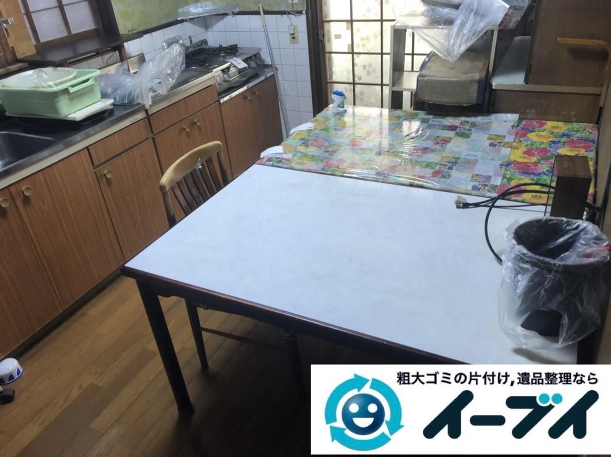 2019年2月23日大阪府泉佐野市で台所や階段下のスペースを片付けさせていただきました。写真3