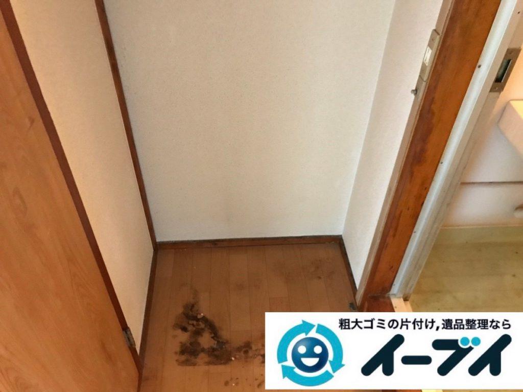 2019年3月1日大阪府千早赤阪村で浴室やトイレの不用品回収。写真4