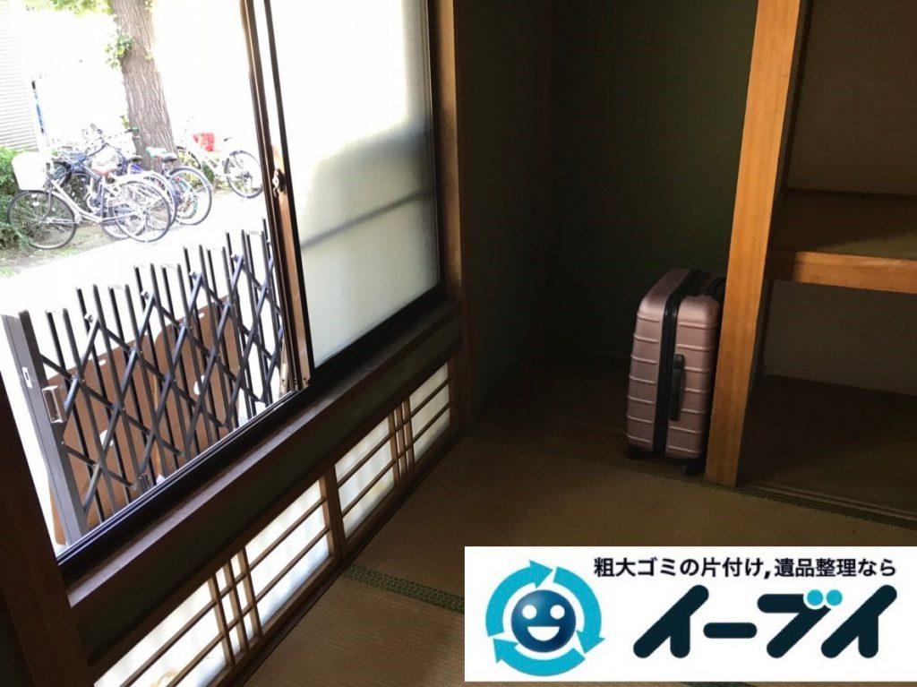 2019年2月26日大阪府交野市で押し入れの片付けや収納棚の家具処分をさせていただきました。写真2