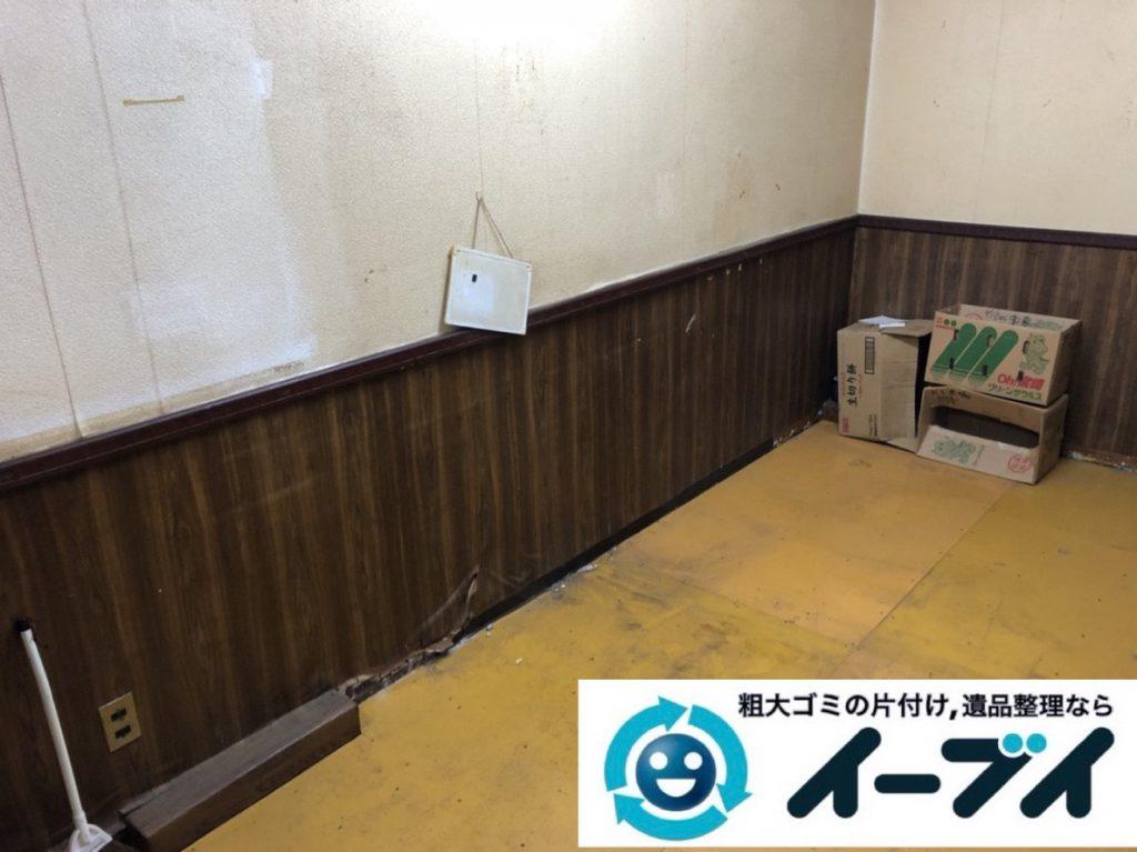 2019年2月25日大阪府泉南市で引越しに伴い不要になった家具や家電などの回収作業。写真2