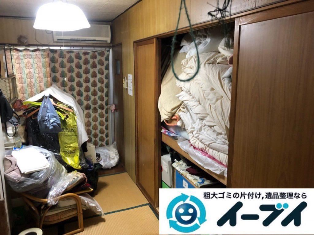 2019年4月9日大阪府四条畷市でお家の家財道具を一式不用品回収しました。写真3