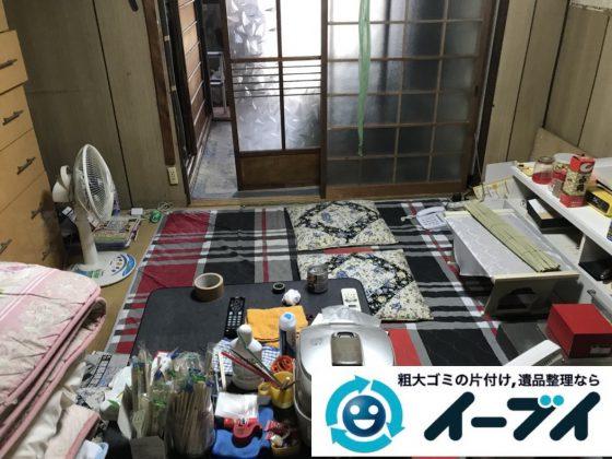 2019年3月9日大阪府四条畷市で箪笥の大型家具や小家電などを回収させていただきました。写真2