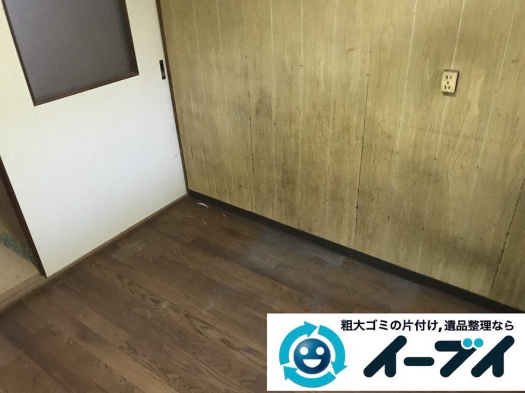 2019年3月10日大阪府堺市中区でゴミ屋敷化した汚部屋を片付けさせていただきました。写真1
