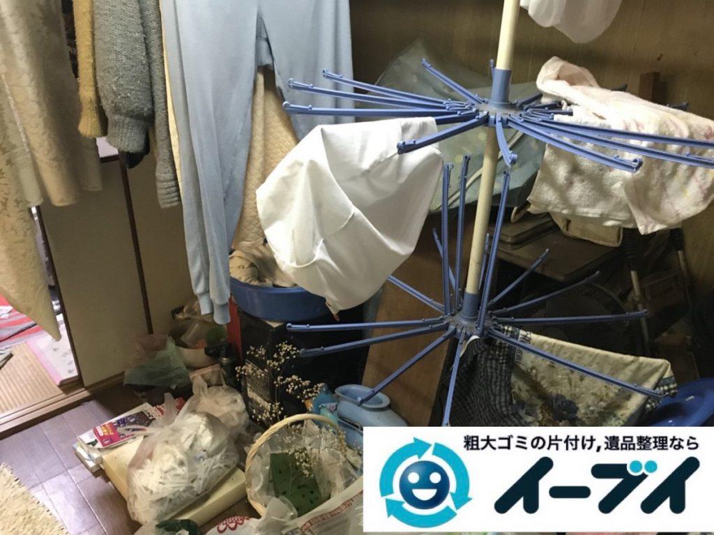 2019年3月10日大阪府堺市中区でゴミ屋敷化した汚部屋を片付けさせていただきました。写真4