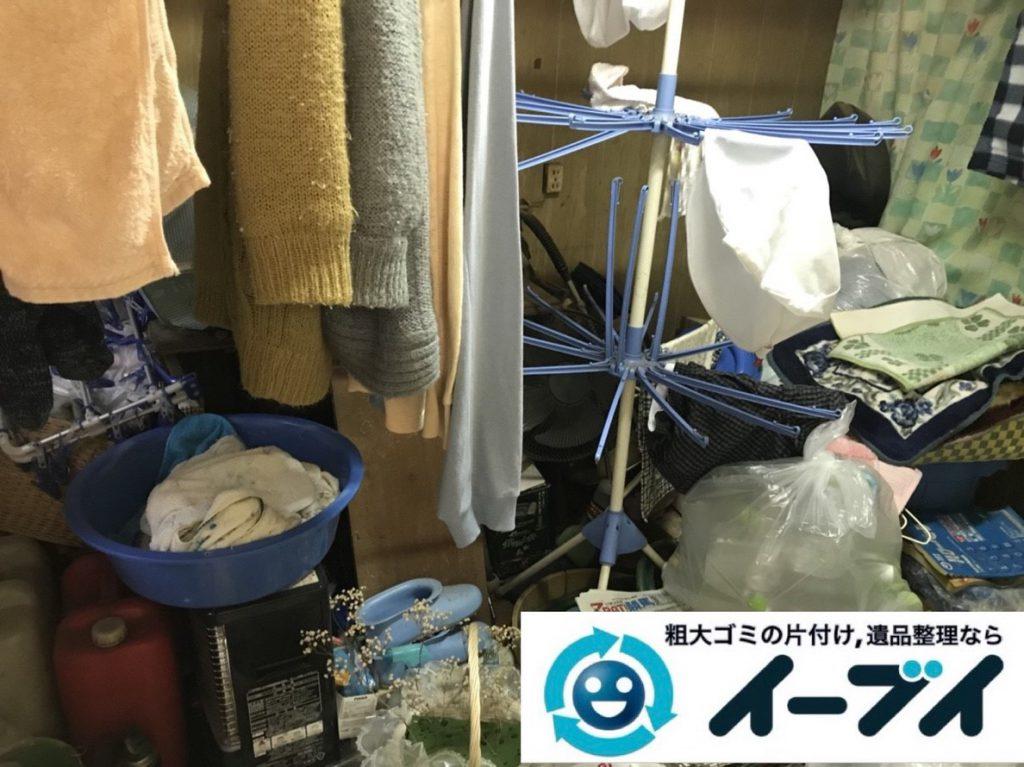 2019年3月10日大阪府堺市中区でゴミ屋敷化した汚部屋を片付けさせていただきました。写真3
