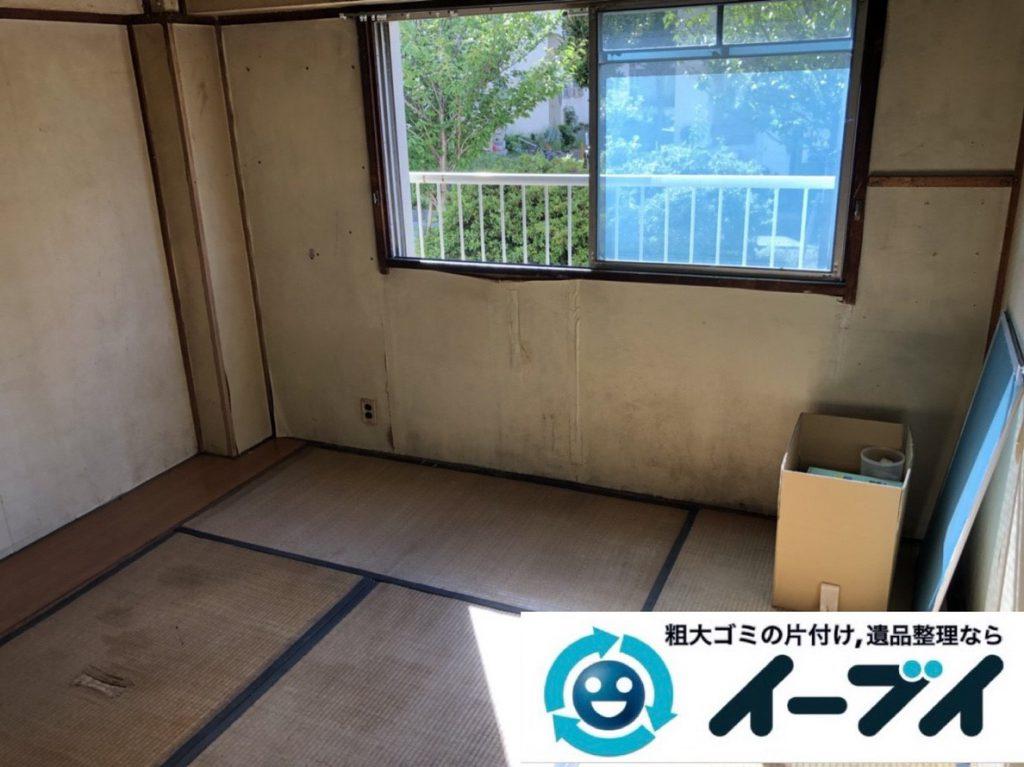 2018年3月8日大阪府和泉市で退去に伴い箪笥の大型家具処分などをさせていただきました。写真4