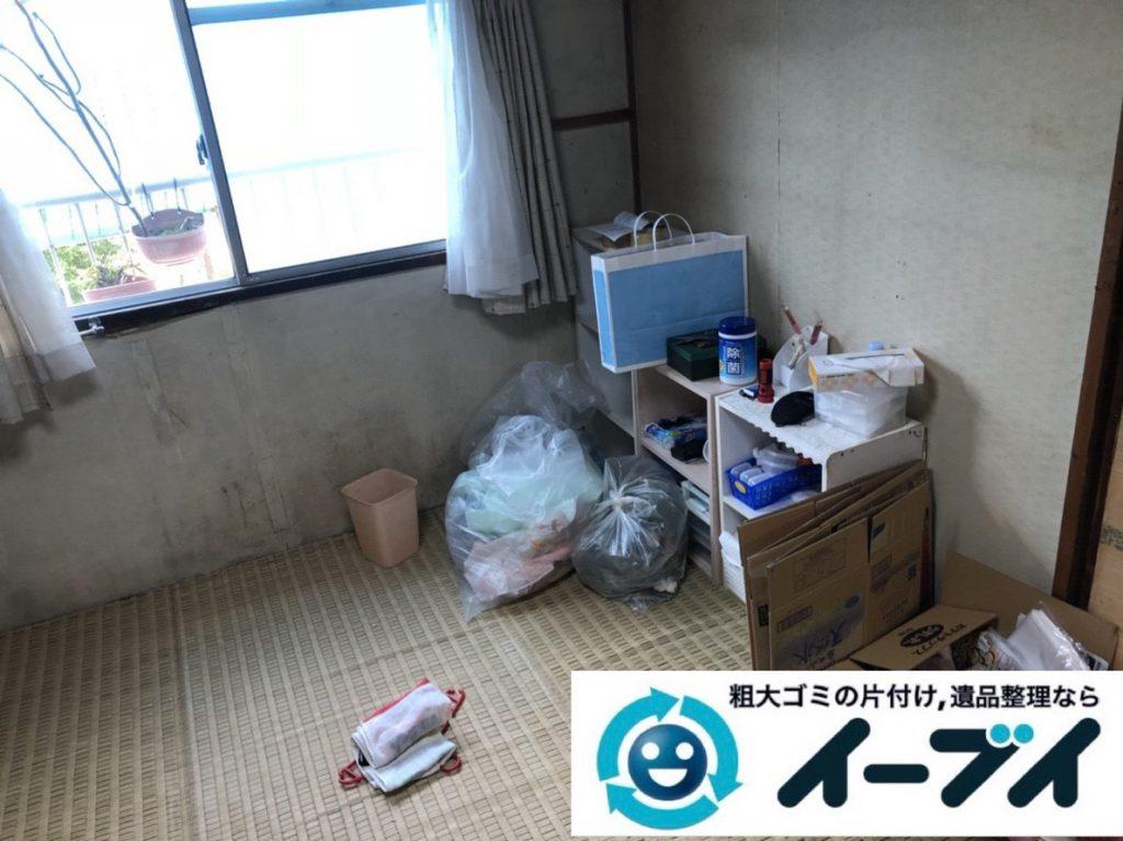 2018年3月8日大阪府和泉市で退去に伴い箪笥の大型家具処分などをさせていただきました。写真3
