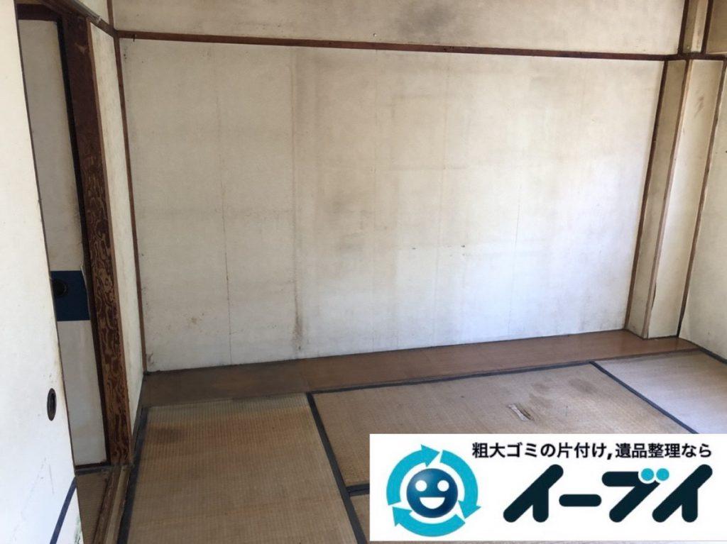 2018年3月8日大阪府和泉市で退去に伴い箪笥の大型家具処分などをさせていただきました。写真22日