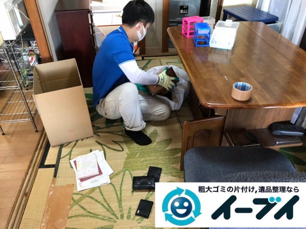 2019年4月6日大阪府大阪市西成区でお家の家財道具の不用品回収。写真5