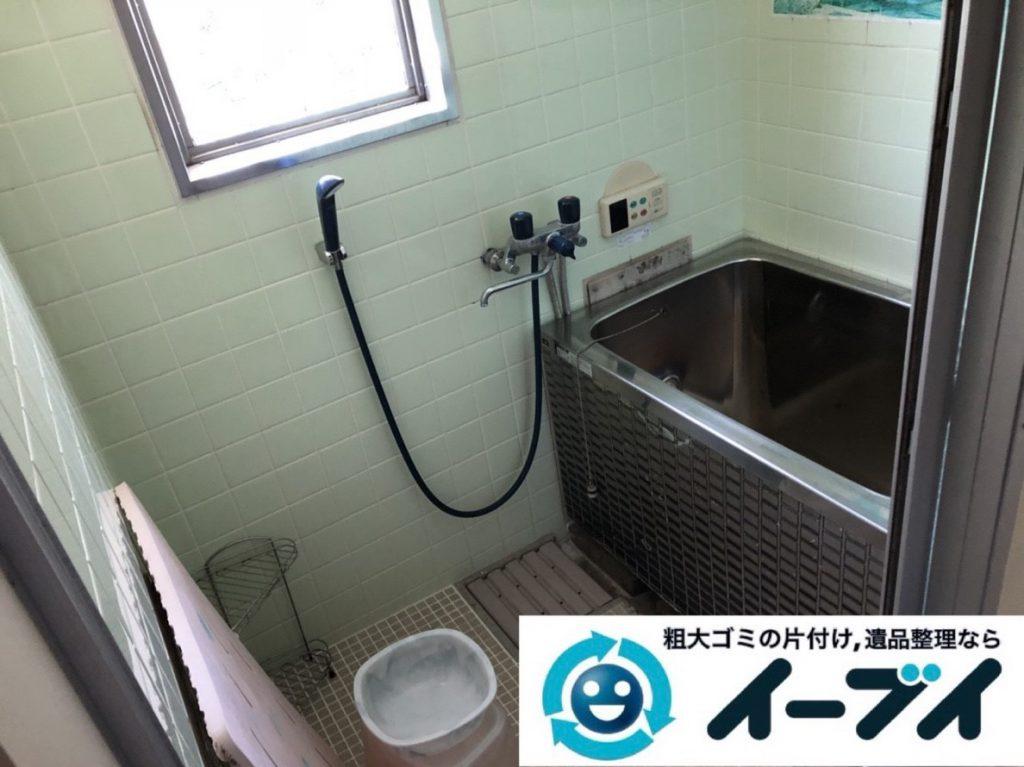 2019年3月22日大阪府大阪市生野区でお部屋と浴室の片付け作業です。写真3